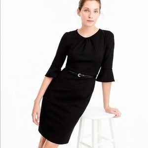 J. Crew Dresses - NWT J.Crew bell sleeve sheath dress